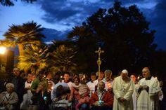 Pape François - Pope Francis - Papa Francesco - Papa Francisco : 31 mai 2014, clôture du mois marial à la grotte de Lourdes du Vatican
