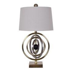 Crestview Helix Table Lamp CVAZER015