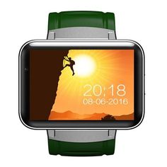 DM98 Smart Watch for Android 4.4.2 MTK6572 Dual core 2.2 inch GPS Health Fitness Sleep Monitor Smart Wearable Devices Smartwatch