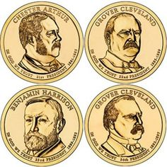 Coin Set: 2012 Presidential Dollar 8-Coin P&D Set Of Uncirculated Coins In Stock