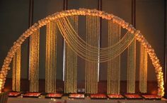 On Witty Vows we share Ideas and trends with all resources to plan/design a witty wedding that's uniquely you. It's the ultimate guide for the Indian Bride! Wedding Stage Design, Wedding Stage Decorations, Flower Decorations, South Indian Weddings, Big Fat Indian Wedding, Wedding Mandap, Desi Wedding, Wedding Ideas, Wedding Reception