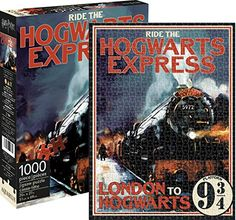 Aquarius Harry Potter Hogwarts Express Jigsaw Puzzle 1000 Piece >>> Click image to review more details.