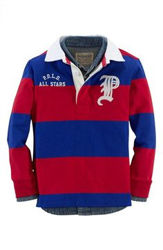 Ralph Lauren Rugby Polo (Toddler Boys) available at #Nordstrom