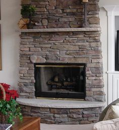 Fireplaces Bucks County With Round Hearth 2 Finishing My