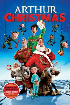 Rent Arthur Christmas starring James McAvoy and Hugh Laurie on DVD and Blu-ray. Get unlimited DVD Movies & TV Shows delivered to your door with no late fees, ever. One month free trial! Streaming Hd, Streaming Movies, Hd Movies, Movie Tv, 2020 Movies, Funny Movies, Comedy Movies, Movie List, Justin Bieber
