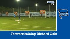 Torwarttraining mit Richard Golz - Hertha BSC - Kraft - Jarstein - Körbe...