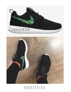 There is 1 tip to buy these shoes: weed canibus marijuana pot stoners  outfit weed cannibus custom cannibis trendy nikes nike runs nike rosche  workout ...