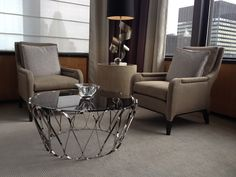 Every living room needs an elegant center table. Aquarius, by @bocadolobo would be the perfect furniture piece for your luxury home. #homedecorideas #interiordesign #livingroomideas luxury homes, living room decor ideas, luxury design . See more inspirations at homedecorideas.eu/