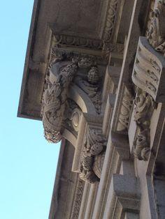 Camara Municipal Do Porto (detail)-Porto