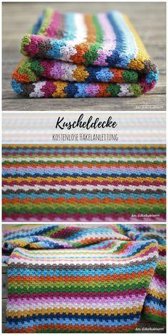 Kandi Patterns, Knitting Patterns, Sewing Patterns, Crochet Patterns, Manta Crochet, Crochet Mandala, Knit Crochet, Granny Square Crochet Pattern, Free Pattern