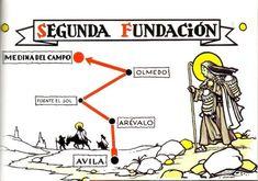 Segunda Fundação de Santa Teresa de Ávila: em Medina del Campo.