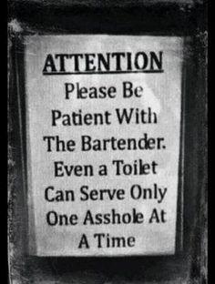 A great, classic bar sign!! Gotta love it!!