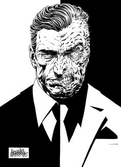 Harvey Two-Face Dent by garnabiuth