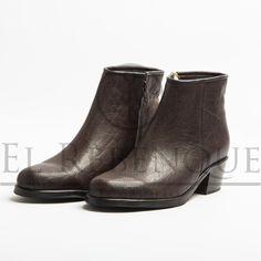 Botas de cuero de búfalo - Dama Wordpress, Ankle, Shoes, Fashion, Loafers, Lady, Boots, Leather, Moda
