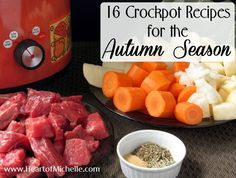 16 Crockpot Recipes for the Autumn Season