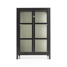 Kraal Black Cabinet in New Furniture | Crate and Barrel