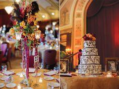 A 1920's themed wedding in Milwaukee | Cake | Wisconsin Bride Magazine