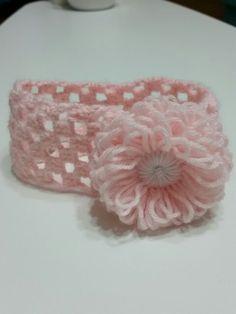 Minik prensese saç bandı. #crochet #headband #yarnart