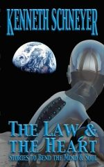 The Law and the Hear - Exploring the seams where humanity and technology, society and individuality intersect, Nebula- and Sturgeon-nominated author Kenneth Schneyer presents thirteen mind-bending, thought-provoking tales of near and far futures that will amuse, amaze, and unsettle. The law will change, and the heart will change, and the heart will change the law. These stories confront the question of just what makes and keeps us human.