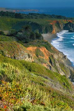 Georeous Pacific Shoreline - Ragged Point, which has the most beautiful views. This one has to be in the spring.