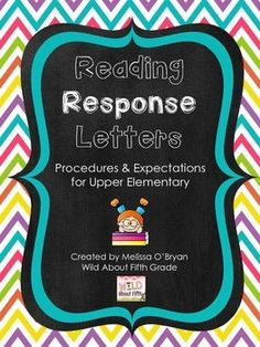 This product details how  to model, teach, organize and implement reading response letters during reading workshop. Reading response letters allow your students a place to write and reflect about the books they are reading. Weekly response letters ensure that you hear from each reader, each week.