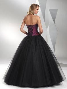 Ball Gown Puffy Tulle Prom Dress/Evening Dress  I love this dress