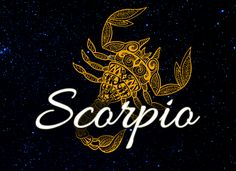 Powerful, Passionate and Intuitive Scorpio!