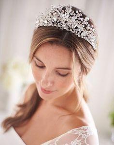weddings sweet 16 hair piece champagne and rhinestone feather fascinator bridesmaid Ivory bridal hair accessory head piece bride