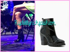 Shoe Cult Escapade Boot -- Worn at the Oshawa, Canada Concert on April 8, 2014