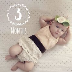 She loves slurping her hands singing funny faces and sitting upright so she can keep an eye  on everything around her.  So in LOVE with this adorable 3 month pic @brianastarr captured with Baby Story App. TO BE FEATURED HERE tag photos made with @BabyStoryApp #BabyStoryApp
