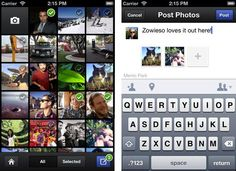 Multiple photo uploads// Facebook focusing on mobile... Are you?