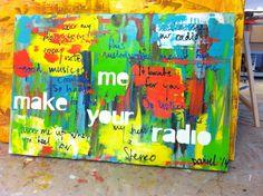Schilderij met tekst laten maken Cow, Make It Yourself, How To Make, Painting, Ideas, Idea Paint, Painting Art, Cattle, Paintings