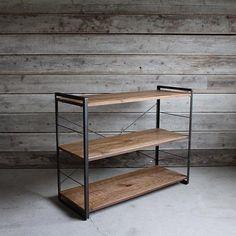 iron shelf 120cm アイアン シェルフ 120 - ア.デペシュの収納家具通販 | リグナ東京