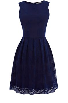 Yes. Classy and Navy. Paired with nude heels and gold accessories would be perfect.