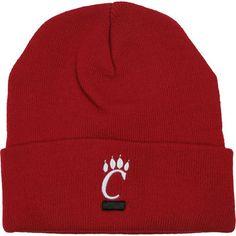 on sale 6b1de 59585 Top of the World Cincinnati Bearcats Team Color Simple Cuffed Knit Hat