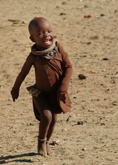Africa | Himba child.  Namibia | © Jean-Paul Kettler