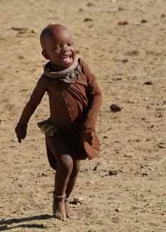 Himba child, Namibia |