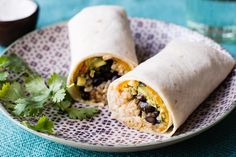 Garden Veggie Freezer Burritos