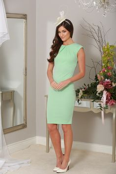 Mint Dress ideal for wedding guests
