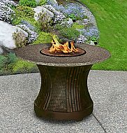 Outdoor Fire Pit Table, Patio Firepit Tables in MI Outdoor Fire Pit Table, Modern Outdoor Fireplace, Gas Fire Pit Table, Fire Pit Patio, Fire Pits, Outdoor Fireplaces, Outdoor Lighting, Outdoor Decor, Outdoor Settings