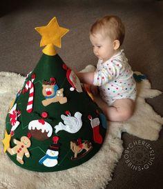 Felt Baby Christmas Tree