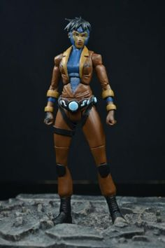 Young Justice ROCKET (Young Justice) Custom Action Figure