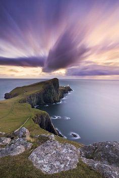isle of skye | Scotland, Isle of Skye, Neist Point during sunset - Bonjour Emmanuel ...