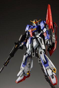 RG 1/144 Zeta Gundam - Painted Build Modeled by skims