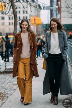 Sara Blomqvist and Alana Zimmer by STYLEDUMONDE Street Style Fashion Photography NY FW18 20180212_48A9612