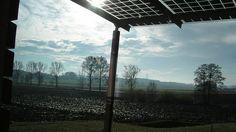 Terrasoverkapping met zonnepanelen