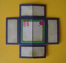 Karte: Endloskarte/Basiskarte    Hallo zusammen!    Hier möchte ich euch meine Endloskarten zeigen.  Wie ich die Basiskarte dafür gebastelt ...