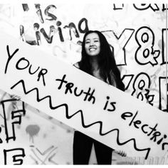 Your truth is electric God  Summer Camp 2015