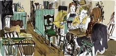 Frank's Bar - Norwich by Jambo julie, via Flickr Franks Bar, Town And Country, Sketches, Drawings, Photos, Painting, Art, Art Background, Pictures