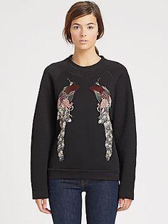 Proenza Schouler Embroidered Sweatshirt
